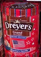 [America's Vanilla Ice Cream, by Dreyers]