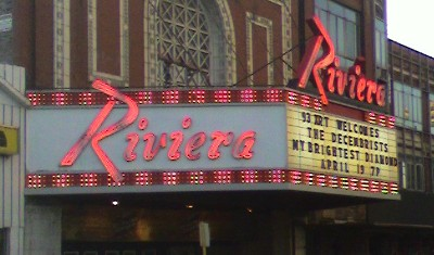 [Decemberists at the Riviera]