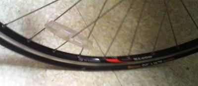 [Flat tire]